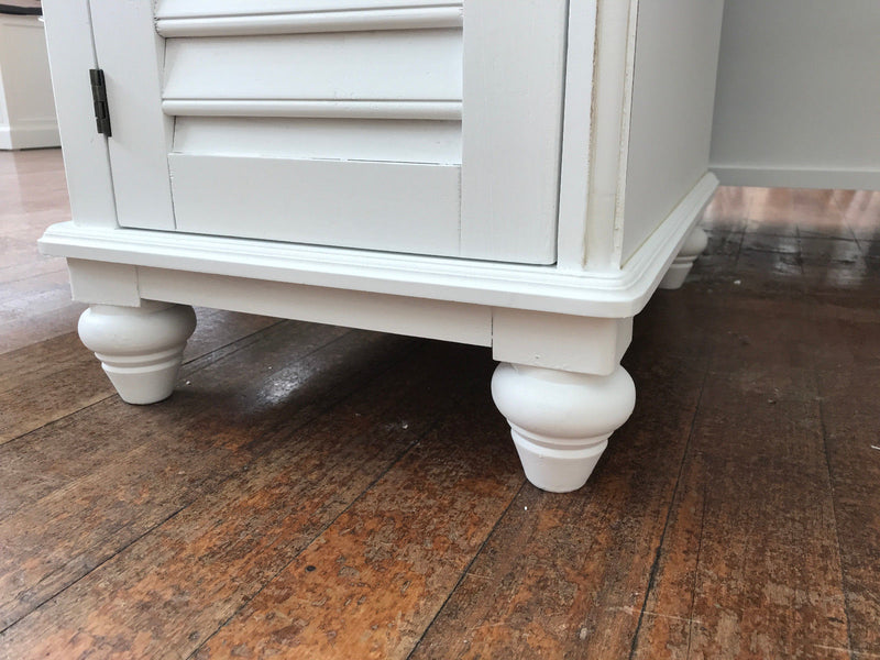 Plantation Desk Antique White Hamptons