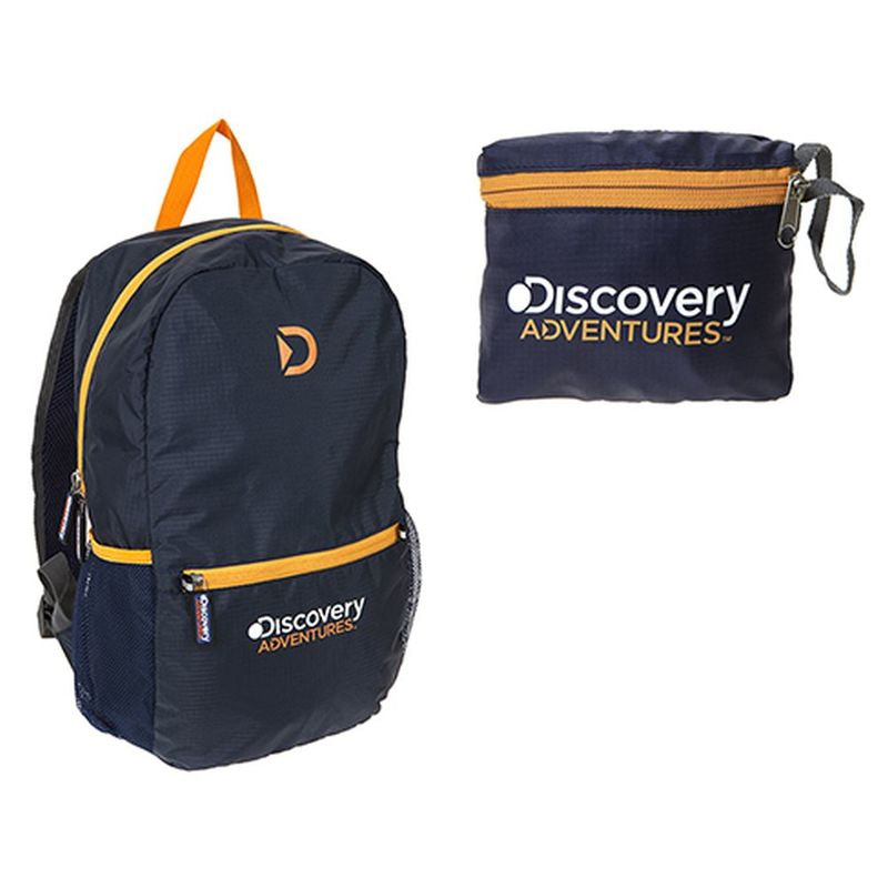DA 15L Folding Day Pack (Blue/Orange)
