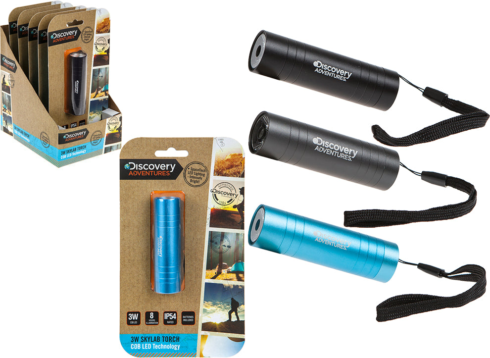 The Range Discovery Adventures Skylab Cob Aluminium Torch 0ab288a725959