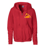 DA Mountain Ladies Zipped Hoodie