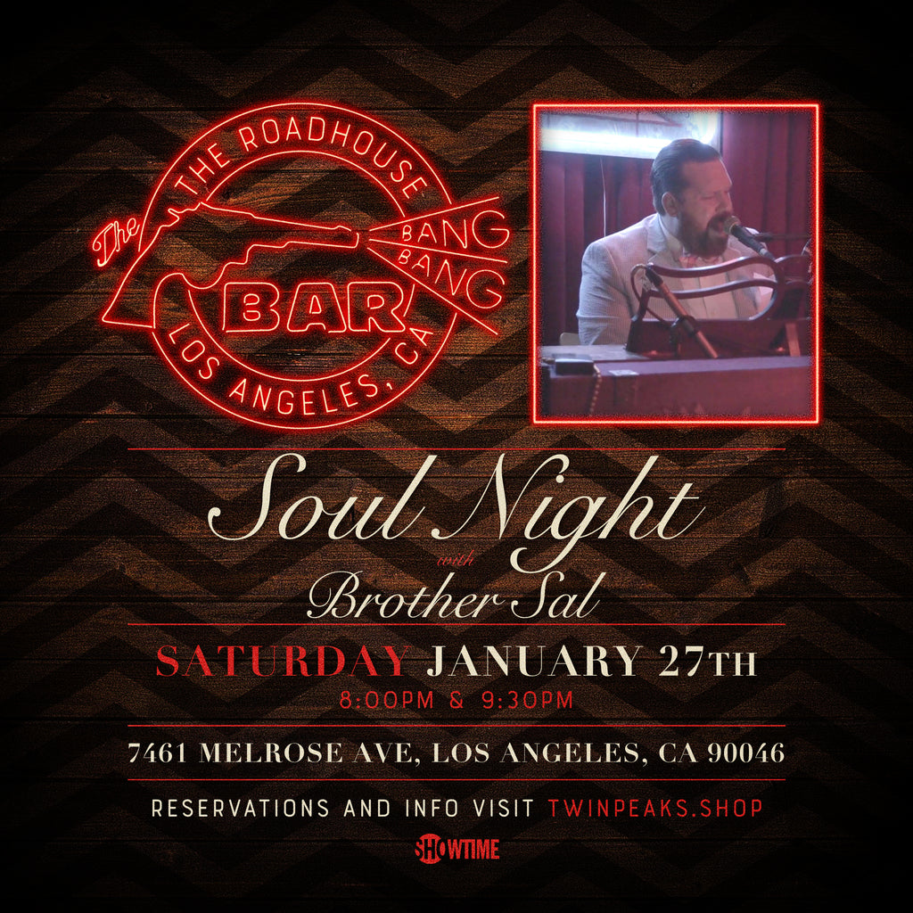 Soul Night with Brother Sal at The Roadhouse: 1/27