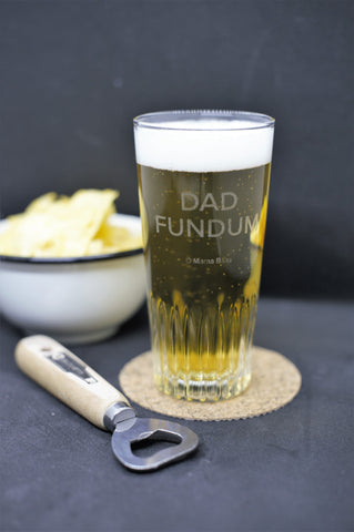 Bierglas | Dad Fundum