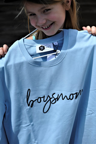 Sweater | Boysmom | Dream Blue