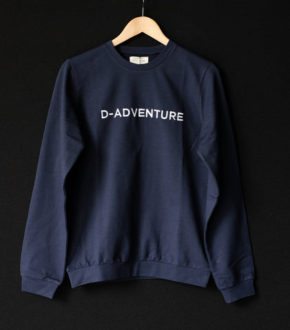 Sweater | D-adventure | Dad | Donkerblauw