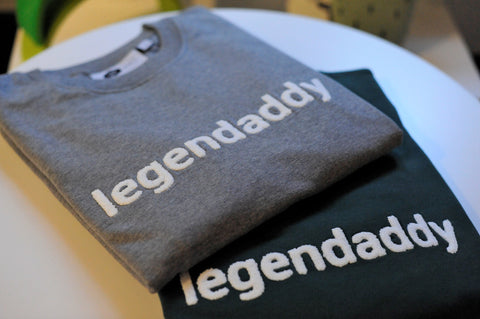 Sweater | Legendaddy | Dad | Grijs