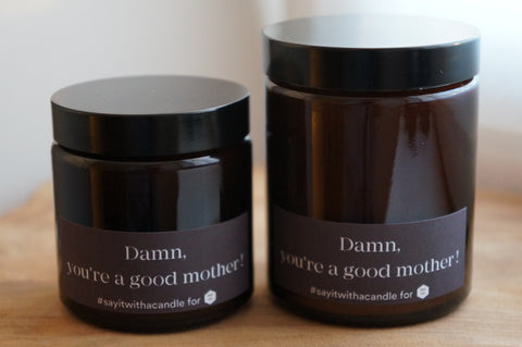 Geurkaars | Munt & Basilicum | Damn, you're a good mother
