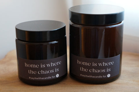 Geurkaars | Munt & Basilicum | Home is where the chaos is