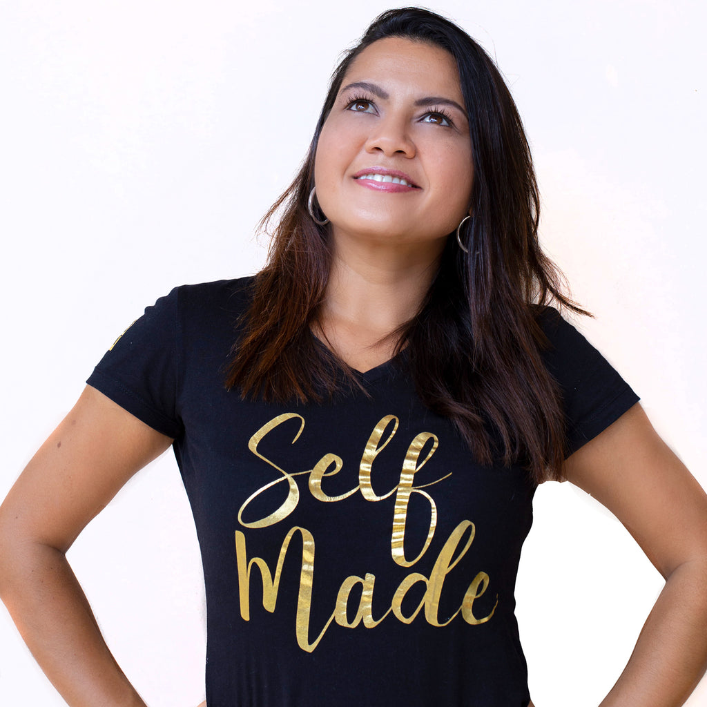 T-SHIRT SELF MADE FEMME