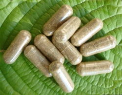 Red Vein Thai Kratom Capsules (Destemmed)