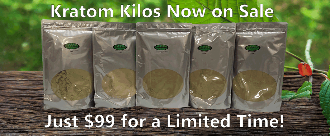 Kratom Kilo Sale - use discount code GREENBALI20 for an additional 20%off green bali only