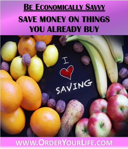 Save Money on Things You Already Buy