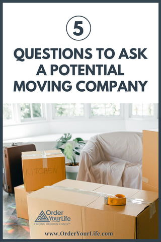 5 Questions to Ask a Potential Moving Company