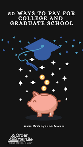50 Ways to Pay for College and Graduate School