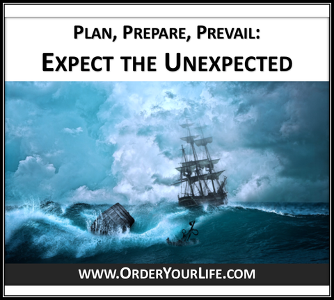 Plan, Prepare, Prevail: 61 Quotes About Expecting the Unexpected