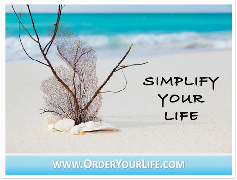 16 Ways to Simplify Your Life