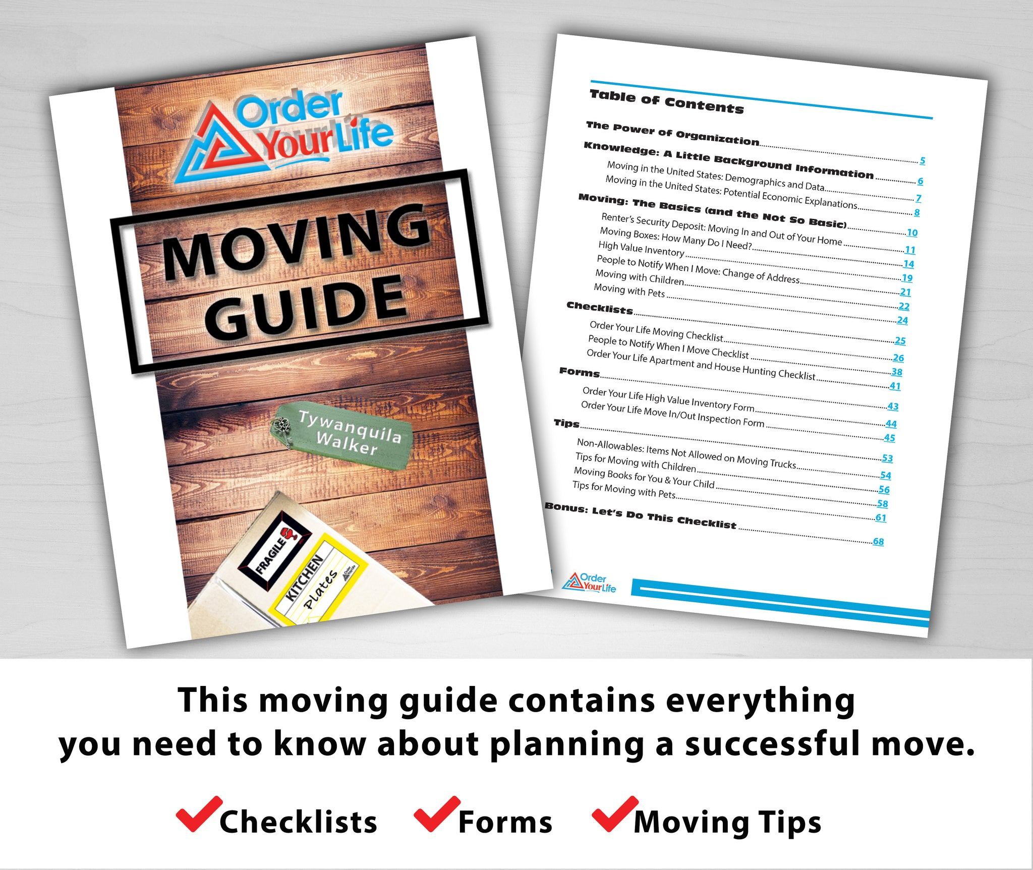 Order Your Life Moving Guide
