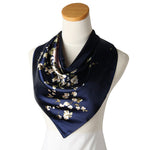 GERINLY Roses Large Square Scarves