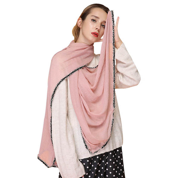 GERINLY Ethnic Pure Scarves