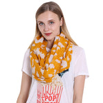 GERINLY Cute Bear Circle Scarf