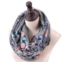 GERINLY Butterfly Loop Scarves