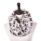 GERINLY Cute Cat Ring Scarf