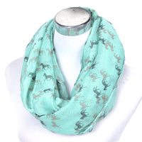 GERINLY Horse Ring Scarf