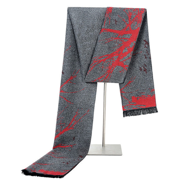 GERINLY Men Classic Warm Scarves
