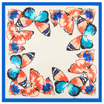 GERINLY Butterfly Stewardess Square Scarf