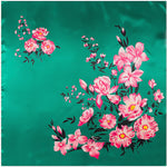 GERINLY Lovely Rose Ethnic Spring Neckerchief