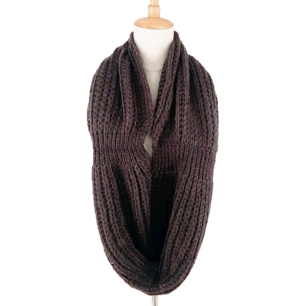 GERINLY Solid Color Knit Scarf