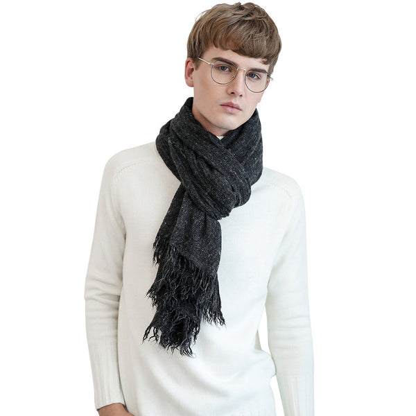 GERINLY Couples Unisex Solid Scarf
