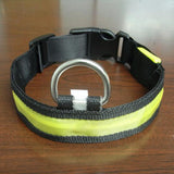 Nylon LED Pet Dog Collar for Night Safety