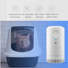 Smart Pet Odor Eliminator (No Spray)