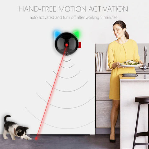 Hand-Free Pet Toy Laser - More Fun More All Cat Toys GreatmyPet
