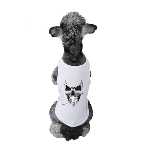 NEW Halloween 3D Lifelike Printing Pet shirts. Dog Vests GreatmyPet