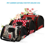 Classics Pet Carrier Travel Bag. Dog Carriers GreatmyPet