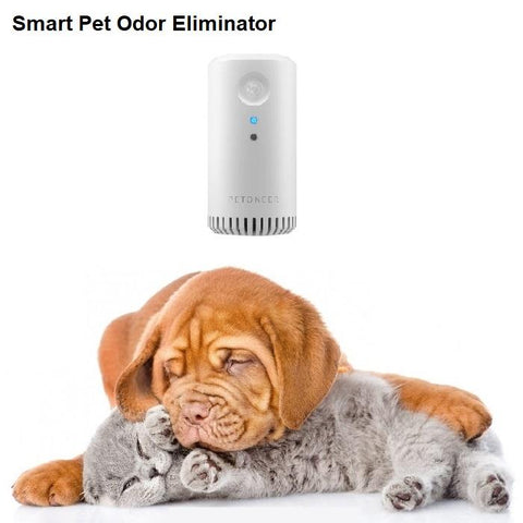 Smart Pet Odor Eliminator (No Spray). Smart Remote Control GreatmyPet