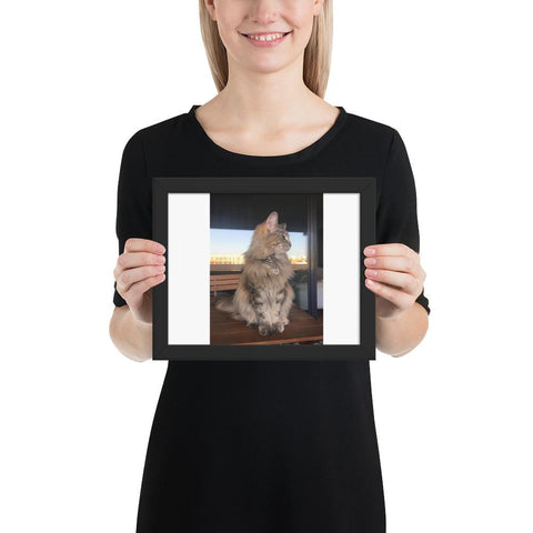 Personalize - Pet Framed poster GreatmyPet Black 8×10