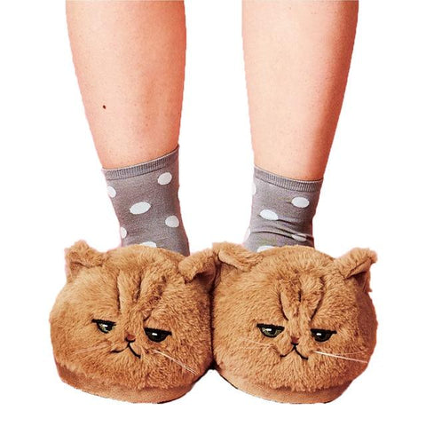 Lazy Cozy Cat Slippers Cat Lovers GreatmyPet You Are Finished 12