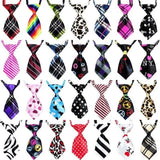 Fashionable And Trendy Dog Neck Ties Dog Accessories GreatmyPet Mix Printed Colors 100 Pcs