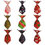 Fashionable And Trendy Dog Neck Ties Dog Accessories GreatmyPet Mix Xmas Colors 50 Pcs