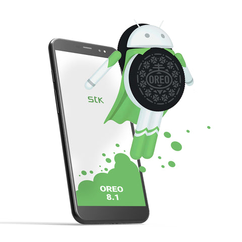 Android Oreo man