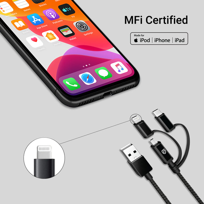 STK Loop - MFi 3in1 Cable