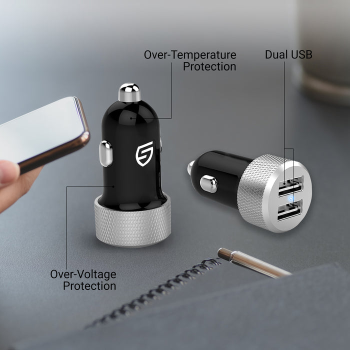 STK Auto - Dual USB Car Charger