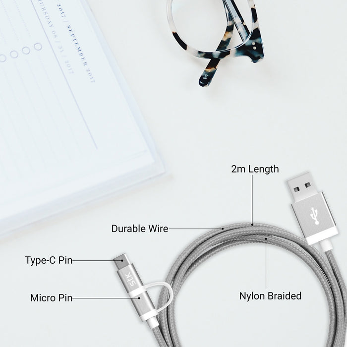 STK Binary C charging cable