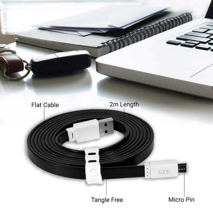 STK Noodle Micro Charging Cable