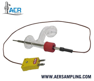 "Double ""L"" Connector with Thermocouple Assembly Kit --- K-151"