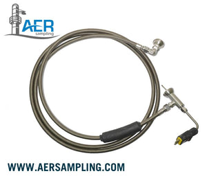 unheated sampling line flexible a1 coiled view