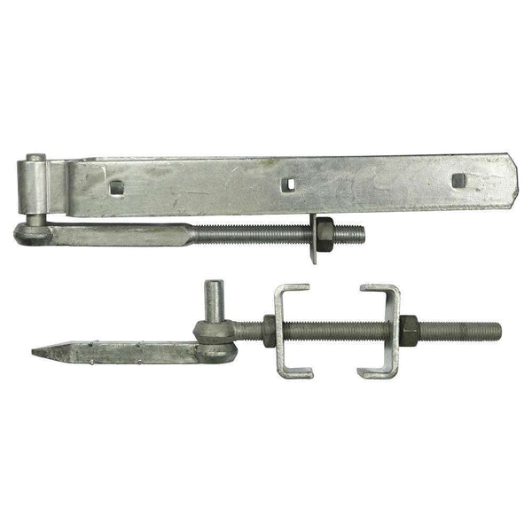 Timco Adjustable Hinge Set HDG - 300mm - 1 Pack