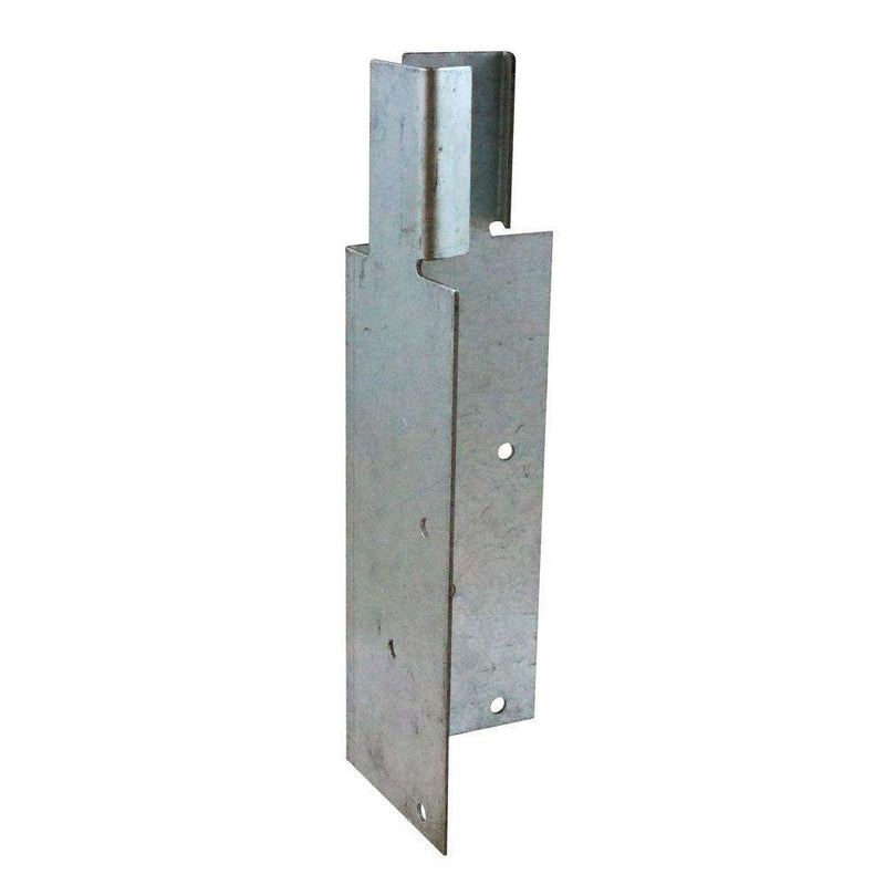 Timco Arris Rail Mortice Bracket Galv (200x62x62mm)